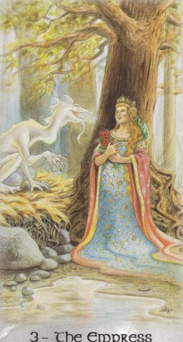 3-The Empress-CelticDragonTarot
