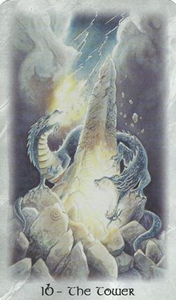 16-TheTower-CelticDragonTarot