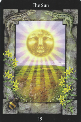 19-TheSun-CelticTarot