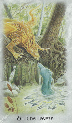 6-TheLovers-CelticDragonTarot