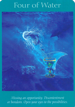 Cups-Water-4ofWater-AngelTarot