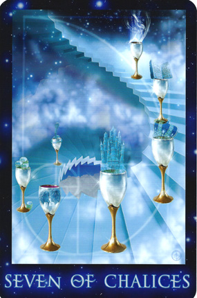 Tarot Cards - The Seven of Cups