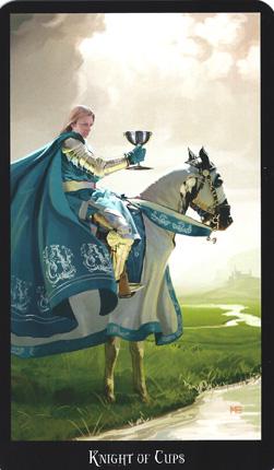Resultado de imagem para knight of cups tarot