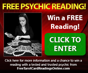 Win a Free Psychic Reading